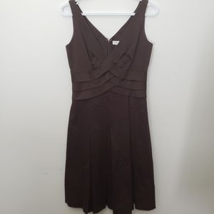 Calvin Klein ( désigner quality) brown dress siz 2
